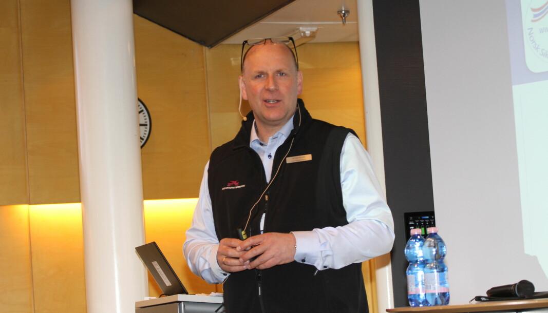 Øyvind Halnes fortsetter som leder av Norsk Sikkerhetsforening frem til årsmøtet i 2022.