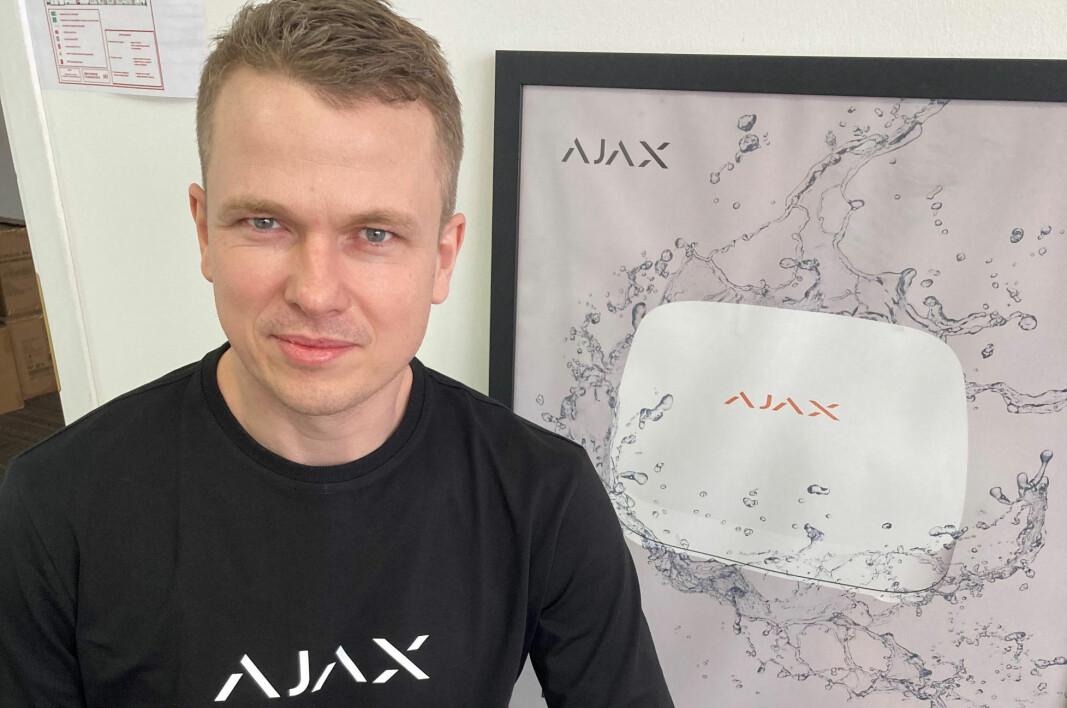 Michael Hygild, som er mest kjent i Norge som tidligere Hikvision-medarbeider, skal nå erobre det norske sikkerhetsmarkedet med alarmanlegg fra Ajax Systems.