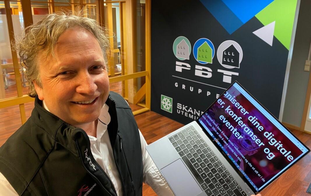 Nestleder Rune Braastad vil gjerne ha flere deltakere på Nosifs sikkerhetskonferanse. Han representerer Skandinavisk Utemiljø, som sammen med søsterbedriftene i PBT Gruppen, driver med facility management/services både inne og ute.