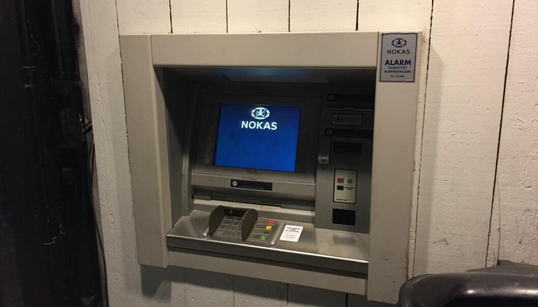Nokas Verdihåndtering vokser i antall kontantautomater etter at de overtok 86 fra DNB.