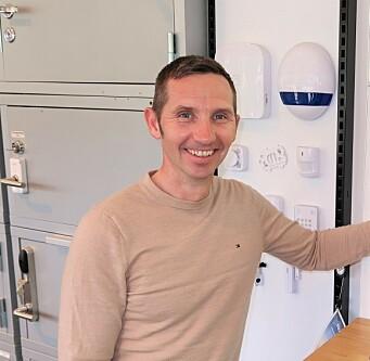 Landssjef Andreas Setting er glad for at Nordland Lås & Sikkerhet valgte å bli en del av Prosero Security Group.