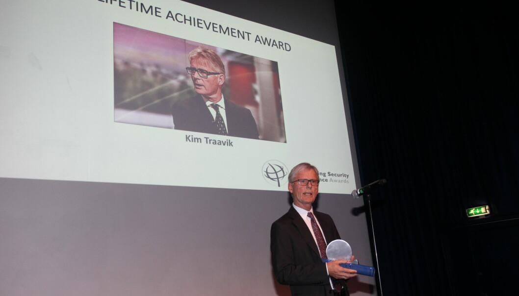 Kim Traavik vant Ospa-prisen «Lifetime achievement» i 2017. Mandag er fristen for nominasjoner til årets Ospa-priser.